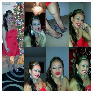 """New Year's 2013! Yes, I can be """"too much"""" sometimes lol but better to be too much than not enough! ;)"""