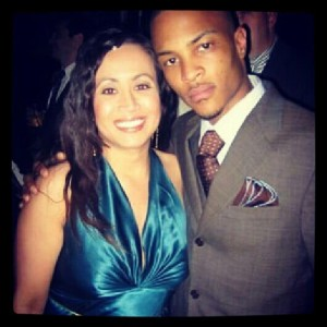 T.I. & Dazzling Rita - This was taken at the ATL Movie premiere in LA 2005. He is a nice guy...and cute :)