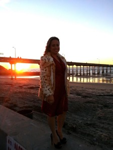 Sunset at Ocean Beach, California  - December 2012
